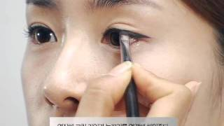 getlinkyoutube.com-뒷트임 한 듯한 시원한 눈매 만들기_Extended Eye Make-up