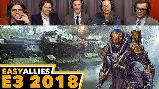 EA Conference - Easy Allies Reactions - E3 2018