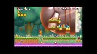 getlinkyoutube.com-初めての改造 NewスーパーマリオブラザーズWii 5-3 キングキラー Nintendo Wii reconstruction  Mario