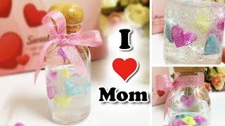 getlinkyoutube.com-[Slime] สอนทำสไลม์วันแม่ ขวดโหลสไลม์บอกรักแม่ | How to make mother's day gift DIY