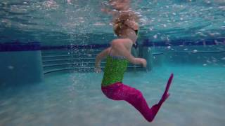 getlinkyoutube.com-How To Get a Mermaid into the Pool