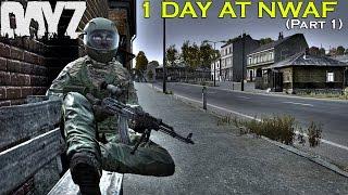 getlinkyoutube.com-DayZ Standalone: 1 Day at NWAF [Part 1] -- The Bait! -- (DayZ SA 0.58 Gameplay)
