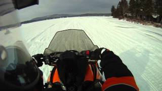 getlinkyoutube.com-2012 Arctic Cat Turbo ShootOut Helmet Cam Footage
