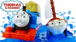 getlinkyoutube.com-TRAINS FOR CHILDREN VIDEO: Thomas and Friends Treasure Chase Set Cartoon from Toys