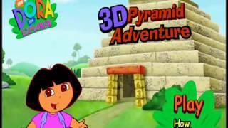 getlinkyoutube.com-Dora The Explorer   Dora 3D Pyramid Adventure   Game show