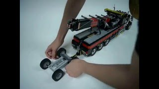 getlinkyoutube.com-Lego Motorized Tow Truck 2