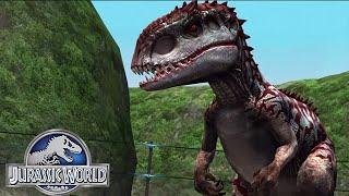 getlinkyoutube.com-Jurassic World™ The Game: Hybrid INDOMINUS Completed Stage 51
