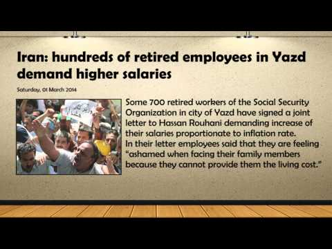 100's of Retired Employees in IRAN Demand Higher Salaries | Public Hanging Sparks Anger