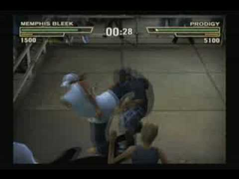 Def Jam Fight for NY - Memphis Bleek vs Prodigy
