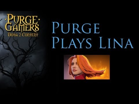 Dota 2 Purge plays Lina