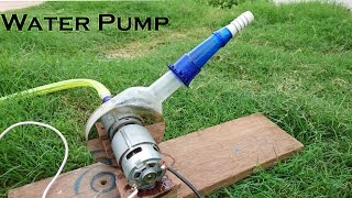 getlinkyoutube.com-How to Make a Powerful Water Pump using Hard disk and bottle