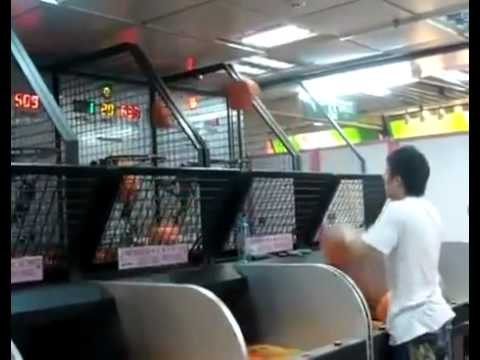 Asian Dude Destroys Basketball Game - Epic Win