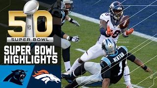 getlinkyoutube.com-Super Bowl 50 Highlights | Panthers vs. Broncos | NFL