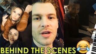 THE ORIGINALS SEASON 4   ALL BEHIND THE SCENES VIDEOS COMPILATION   JOSEPH MORGAN, PHOEBE TONKIN