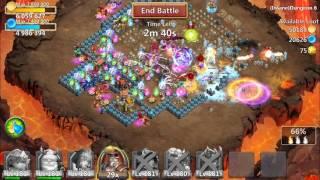 Castle Clash: Insane Dungeon 6 Without Minotaur!