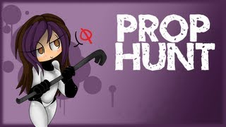 Minx & Friends Play | Prop Hunt | THE CAMOUFLAGED BOX!