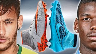 getlinkyoutube.com-Neymar VS Pogba - Boot Battle: Magista vs Hypervenom 2 Test & Review