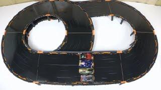 getlinkyoutube.com-Anki Overdrive Race Time: Thermo vs Katal vs Big Bang vs Boson