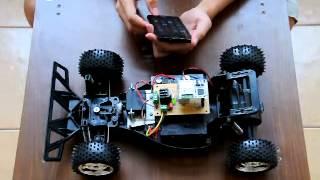 Android ควบคุมรถบังคับวิทยุผ่าน WiFi