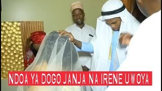 Hii sio picha ni VIDEO, sekunde 59 za ndoa ya Dogo Janja na Uwoya