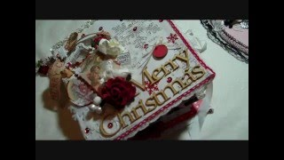 getlinkyoutube.com-Christmas Junk Journal 2015