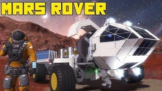 "getlinkyoutube.com-Space Engineers: Mars Rover!!! ""The Martian"" Movie, the Red Planet, Matt Damon"