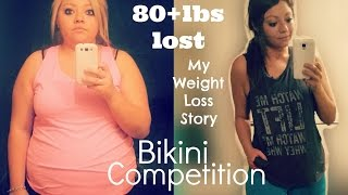 My Weight Loss Story | Bikini Competition