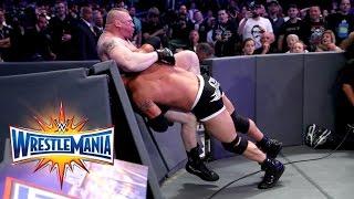 Goldberg vs. Brock Lesnar - Universal Title Match: WrestleMania 33 (WWE Network Exclusive) width=