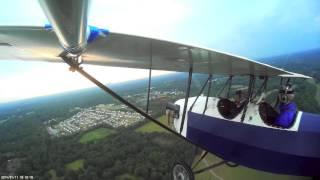 getlinkyoutube.com-Elliot's first Pietenpol flight