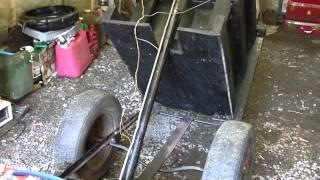 Homemade Mini Dump Trailer