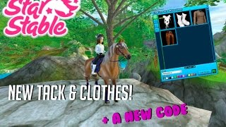 New Tack & Clothes! + New Code | Star Stable Online ✮