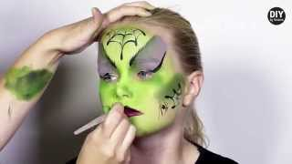 getlinkyoutube.com-DIY by Panduro: Halloween make-up, Witch