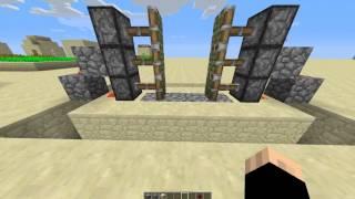 getlinkyoutube.com-Minecraft | كيف تسوي باب اوتوماتيكي