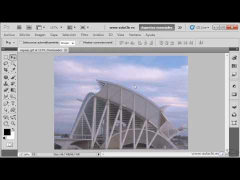 Curso de Photoshop CS5.  Ejercicio 2.1. Trabajando con la vista imagen.