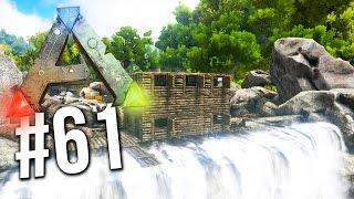 getlinkyoutube.com-Ark Survival Evolved - EPIC WATERFALL BASE BUILD! [61] (Ark Survival Gameplay)
