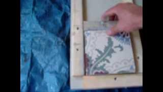 getlinkyoutube.com-How to make your own cement tiles - Hoe maak je zelf cementtegels