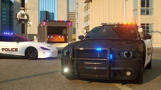 getlinkyoutube.com-Sergeant Cooper the Police Car - Real City Heroes (RCH) - Videos For Children