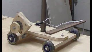 getlinkyoutube.com-DIY motorized camera dolly