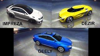 getlinkyoutube.com-Asphalt 8 - Acceleration test & races (DeZir/Geely/Impreza)
