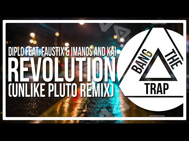 REVOLUTION - DIPLO FT  FAUSTIX & IMANOS AND KAI karaoke version ( no vocal ) lyric instrumental