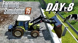getlinkyoutube.com-Let's Play Farming Simulator 2015 - Day 8 | Feeding the Cows and Sheep