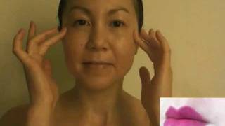 getlinkyoutube.com-How keep your skin looking young - The Best Face Massage techniques!