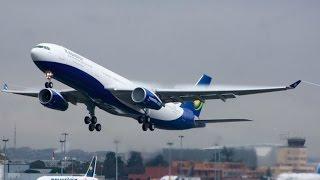 "getlinkyoutube.com-SECOND AIRBUS A330-300 ""UMURAGE"" LANDS IN KIGALI"