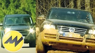 getlinkyoutube.com-VW Touareg vs. Land Rover Discovery