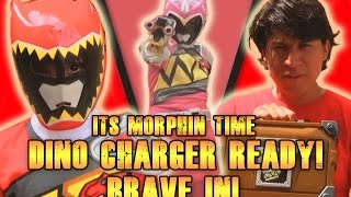 getlinkyoutube.com-Its Morphin Time Dino Charger Ready! Brave In! [Fan film]