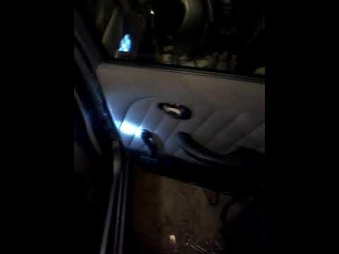 FIAT ALBEA снятие обивки дверей.