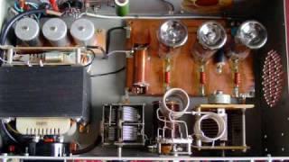 "getlinkyoutube.com-Vacuum tube or HF linear amplifier ""home made"""