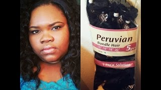 Outre Duo Batik Peruvian Bundle Hair Review