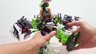getlinkyoutube.com-小不高兴和他的小伙伴们——Master Made SDT-04 Destruction Scorpion 诚造社 萨克巨人 (撒克)