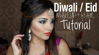 getlinkyoutube.com-Tutorial | Indian Wedding, Diwali & Eid | Kaushal Beauty